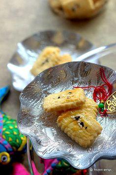frozen wings: Salted Egg Yolk Cookies