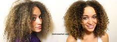 See how to restore and revive damaged curls!