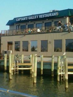 Amazing seafood restaurant in Ocean City, Maryland. Definitely put it on your list! The Captains Galley!