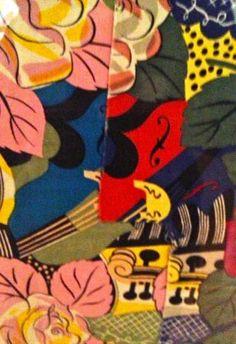 Raoul Dufy - les violons textile print