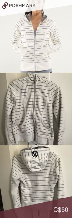 Lululemon Scuba Hoodie *stretch Used condition, no stains or damage. Normal wash and wear condition. Size 8 *** cat friendly, smoke free home*** Offers welcome. Lululemon Scuba Hoodie, Plus Fashion, Fashion Tips, Fashion Trends, Hoodies, Sweatshirts, Lululemon Athletica, Hooded Jacket, Stains