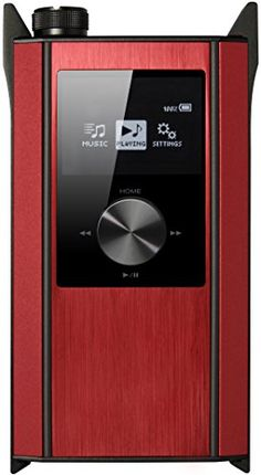 Teac HA-P90SD-R Portable Hi-Resolution Digital Audio Player/Headphone Amplifier, Red