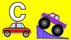Monster Trucks For Children Teaching Children The Alphabet