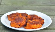 Crash Hot Sweet Potatoes: instead of boiling the sweet potatoes first, just slice them in 1/2 inch slices, toss them with the oil, butter and sugar/spices, and roast them for 45 min total. You can flip them half way through and sprinkle a little more spice mix on them. YUM!
