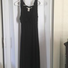 Max Studio Black maxi dress Max Studio Black maxi dress very comfortable Max Studio Dresses Maxi