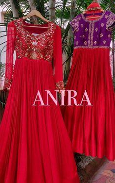 Indian Long Dress, Indian Gowns Dresses, Dress Indian Style, Maxi Gowns, Simple Kurti Designs, Half Saree Designs, Kurta Designs Women, Anarkali Dress, Anarkali Suits