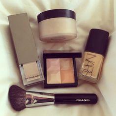 #beauty #cosmetics #makeup #chanel #NARS #burberry