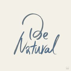 Be Natural on Behance