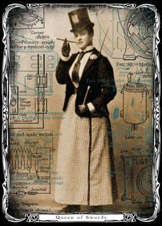 steampunk tarot - Google Search