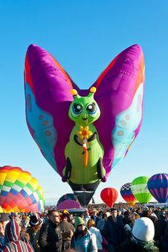Albuquerque Annual Balloon Fiesta... Albuquerque Balloon Fiesta, Albuquerque News, Air Ballon, Hot Air Balloon, New Mexico, Tweety, Balloons, Shapes, Fiestas
