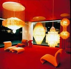The Soft Organic Interiors of Verner Panton: The Interior Design That Defined the 70s