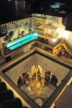 Morrocan riad #morrocan_decor_pool