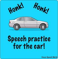 Crazy Speech World Car Practice