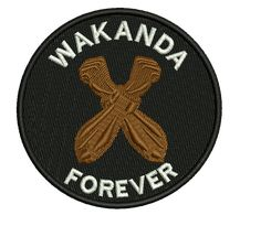 WAKANDA FOREVER-2 Embroidered Patch $6.50 Embroidered Patch, Dry Cleaning, Iron On Patches, This Or That Questions, Cool Stuff, Dry Cleaning Business