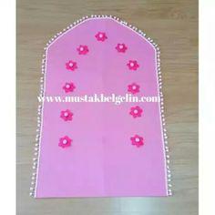 Felt Crafts Diy, Felt Diy, Arts And Crafts, Ramadan Crafts, Ramadan Decorations, Salat Prayer, Islamic Prayer, Prayer Room, My Baby Girl