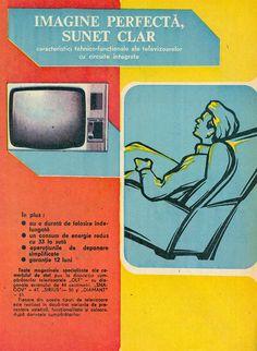 televizoare-sirius-diamant-olt-sangov Sirius, Retro Advertising, Vintage Posters, Creepy, Nostalgia, Memories, Marketing, My Love, Pictures