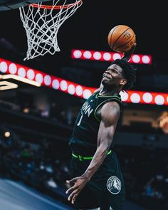 """Minnesota Timberwolves on Instagram: """"🗣THE MOST ELECTRIFYING MAN IN SPORTS ENTERTAINMENT"""" Anthony Edwards, Minnesota Timberwolves, Nba, Entertainment, Sports, Instagram, Hs Sports, Sport, Entertaining"""