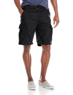 59875f1c01 UNIONBAY Men's Survivor Belted Cargo Short-Reg and Big & Tall Sizes  Workwear Fashion