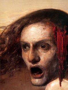 by Odd Nerdrum Gothic Horror, Arte Horror, Mask Painting, Modern Portraits, Scary Art, Occult Art, Classic Paintings, Painting People, Old Master