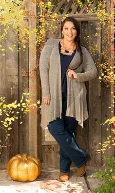 Fresh Fall Style #swakdesigns #PlusSize #Curvy