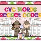 I created this cut  paste pack to give my kinders extra practice with CVC words. Sight Word Secret Codes are already a BIG hit in my classro...