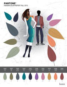 Pantone 2015 Fall Fashion Report