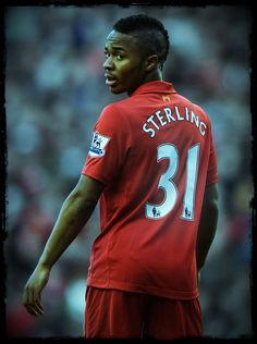 #LFC No. 31 Raheem Sterling