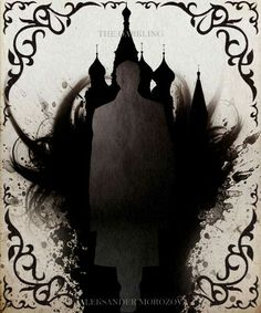 This is the Darkling, but the darkness and he buildings fit the atmosphere well.