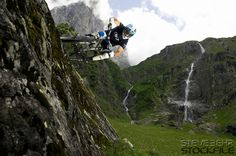 Bryn Atkinson ..GT bicycles ..Engelberg Switerland June 2007..pic copyright Steve Behr Stockfile