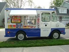 Hiring the ice cream truck is a guaranteed hit for a graduation party.  And no need to bake dessert!