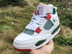 the latest 62c67 a5bb6 Air Jordan 4 Do the Right Thing in White on hand Red Color Schemes, Newest