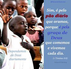 Momento Versículos: Entendendo nossa total dependência de Deus, estamo...