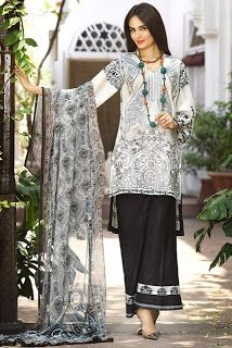 Ittehad Embroidered Eid Summer Lawn Collection 2016