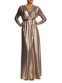 Vintage shine maxi dress
