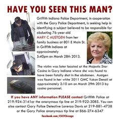 Missing Bring Them Home, Bring It On, Griffith Indiana, Indiana Police, How Many People, Have You Seen, Family Business, This Man, No Response