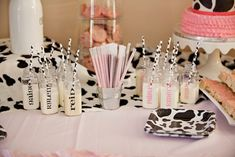 MooMoos & TuTus Themed Birthday Party via Kara's Party Ideas KarasPartyIdeas.com Cake, party supplies, banners, cupcakes, tutorials, giveaways and more! #cowparty #tutuparty #moomoosandtutus #cowbirthdayparty #girlpartyideas #cookiesandmilk #milkandcookies #karaspartyideas #partyplanning #partydesign (28)