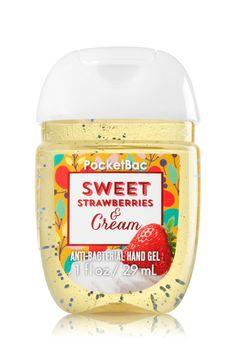 Sweet Strawberries & Cream PocketBac Sanitizing Hand Gel - Soap/Sanitizer - Bath & Body Works