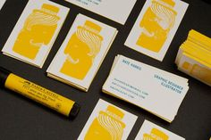 business card by Nate Harris