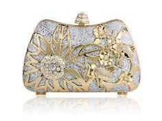 Spring Bloom Crystal Clutch - Kate Ketzal Jewellery & Adornments
