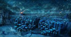 Winter Labyrinth by BlueRogueVyse.deviantart.com on @DeviantArt