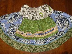 Matilda Jane Platinum Blue Skirt