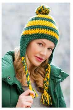 Team Cheer free crochet pattern