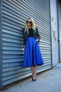 I'm in love with all the midi skirts that I'm seeing out there these days! The look is so feminine, classy and elegant all in one. I don't think you can go wrong with this skirt option for a day trip to the mall or even a more formal event in the evening – just …