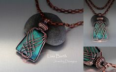 This is a variation of the Criss Cross wire wrap.  If you would like to learn how to do a criss cross wrap, take a peek here the the tutorial:  https://www.etsy.com/listing/156274277/criss-cross-pendant-tutorial?ref=shop_home_active  Thanks so much!