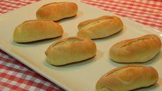 Receta fácil de pulguitas de pan paso a paso Hot Dog Buns, Hot Dogs, Hamburger, Sweets, Bread, Food, Youtube, Relleno, Recipes