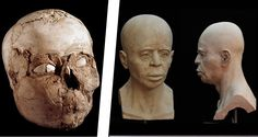 Reconstruction From Ancient Skull Reveals What Humans Looked Like 9,500 Years Ago - http://all-that-is-interesting.com/jericho-skull?utm_source=Pinterest&utm_medium=social&utm_campaign=twitter_snap