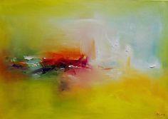 Original Landscape Painting by Popei Ioan Summer Painting, Oil Painting For Sale, Painting Tips, Abstract Landscape, Abstract Art, Original Paintings, Original Art, Art Prints Online, Pretty Art
