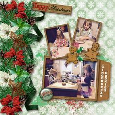 Holiday Cheer page kit by Aimee Harrison Design Studio http://www.digitalscrapbookingstudio.com/personal-use/kits/holiday-cheer-page-kit/