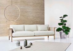Featuring a sustainable, minimalist, and customizable design, the Erik Jørgensen X Snøhetta Casework series debuts with an elegant sofa. Danish Furniture, Lounge Furniture, Furniture Making, Furniture Design, Outdoor Furniture, Outdoor Sofa, Outdoor Decor, Large Sofa, Danish Design