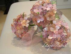 Hand made 'bunga pahar' from Dip Flower.